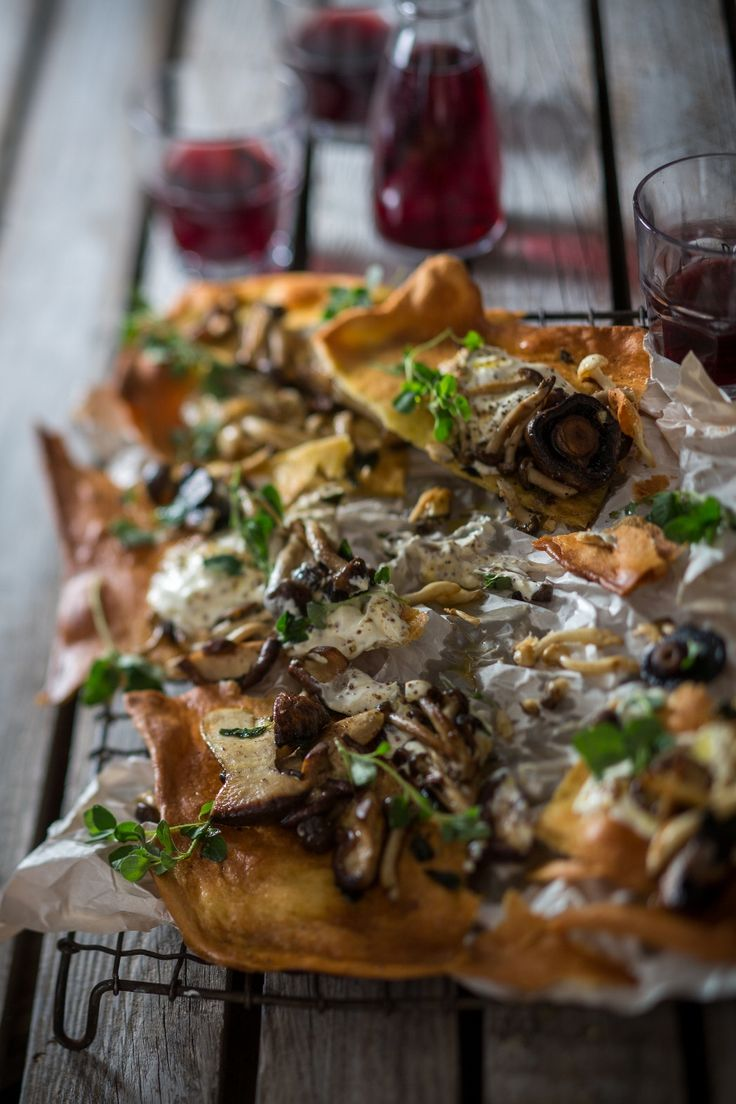 Nothing beats the #umami #flavours of pan fried #exoticmushrooms with #oregano #cremefraiche and #mustard.