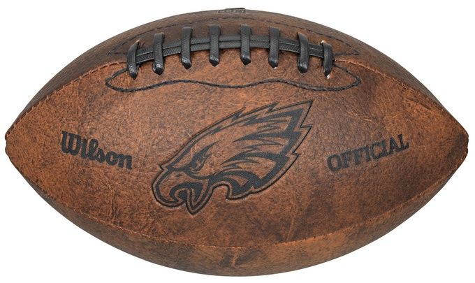 Philadelphia Eagles Football - Vintage Throwback - 9 Inches Z157-8381370923