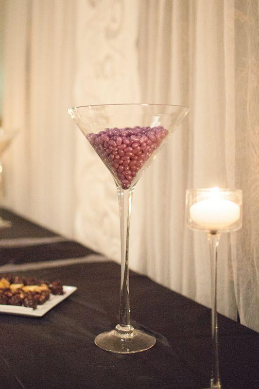 Large Martini Glass Vase