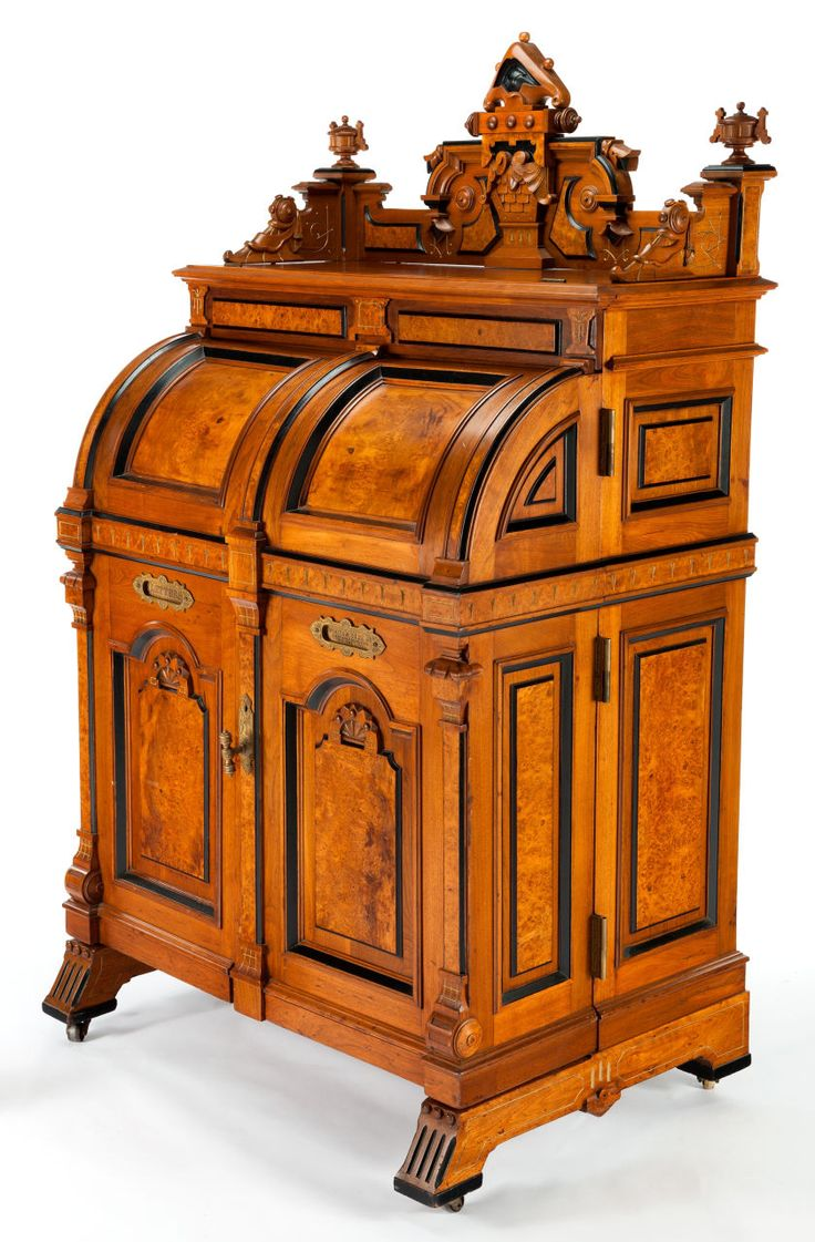 A WOOTEN AMERICAN RENAISSANCE REVIVAL WALNUT PATENT DESK: WOOTEN EXTRA  GRADE Wooten Desk Company,. Dream FurnitureFurniture ProjectsWood  FurnitureAntique ... - 250 Best Antique Furniture Images On Pinterest Antique Furniture