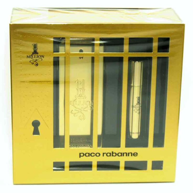 Estuche promocional del #perfume para hombre One Million de #PacoRabanne