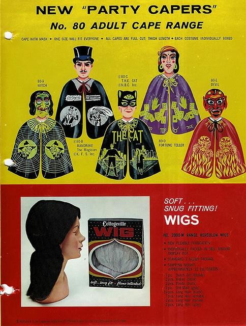 Collegeville Halloween Costume Catalog 1967