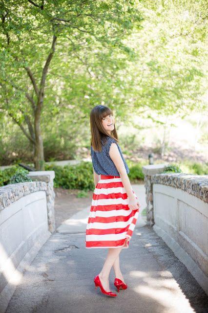 Cute modest skirt + discount code