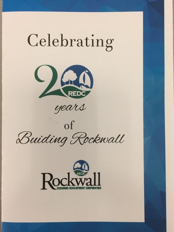Honda Cars of Rockwall would like to congratulate the Rockwall Economic Development Corporation who had their luncheon today celebrating over 20 years helping develop to the Rockwall community!