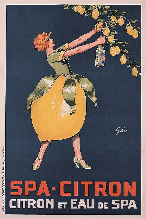 Vintage French Poster-Giclee-Citron
