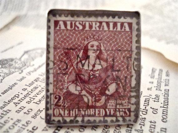 1950 Commemorative Queen Victoria Australia by SilverGypsys, $48.00