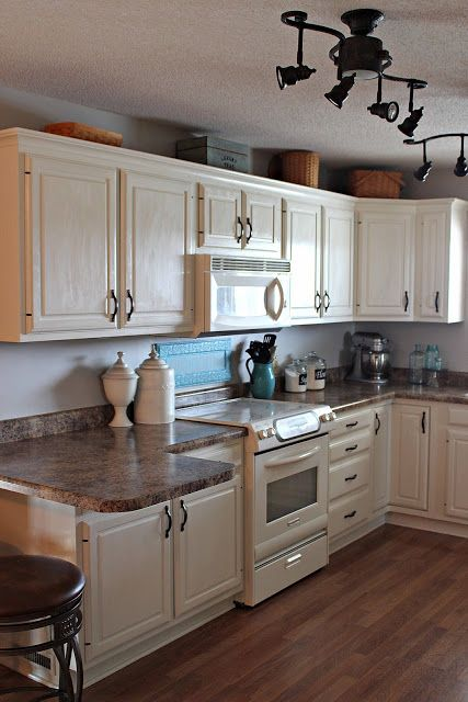 Kitchen Redo Painted Cabinets Kitchen Pinterest