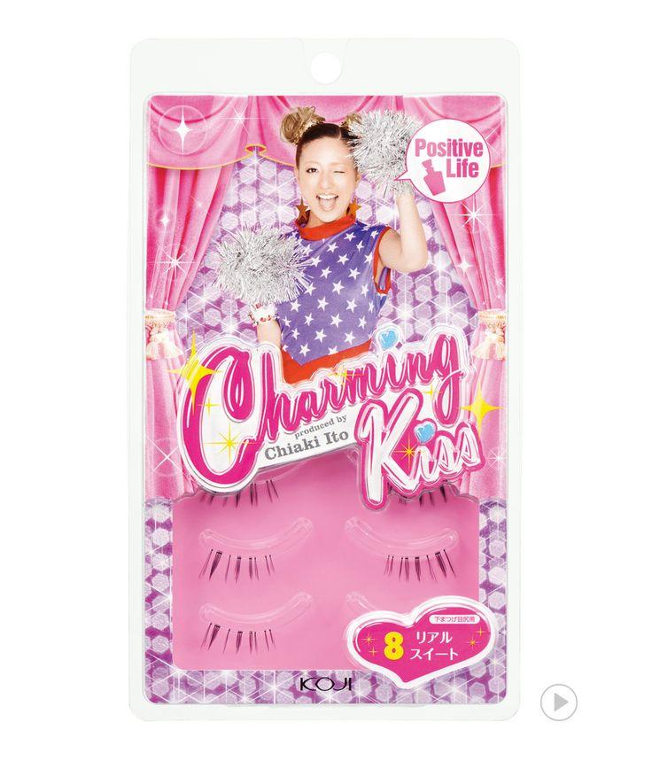 Charming Kiss Eyelash No.8 Real Sweet                             챠밍키스 아이래쉬 NO.8 리얼 스위트