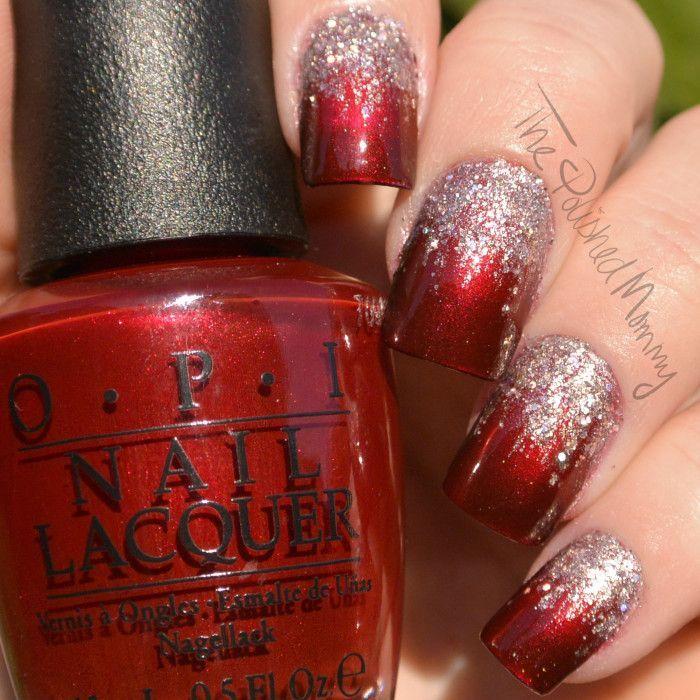 Elegant Christmas Nail Art: Nails, Christmas Nail