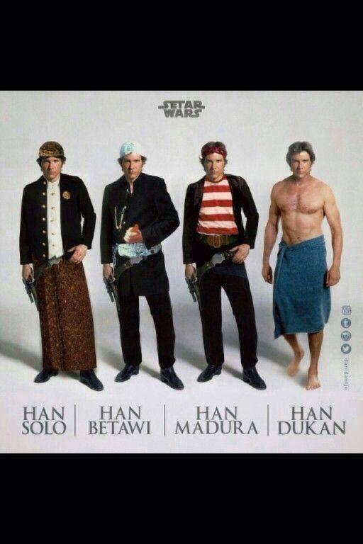 Han Solo, Betawi...