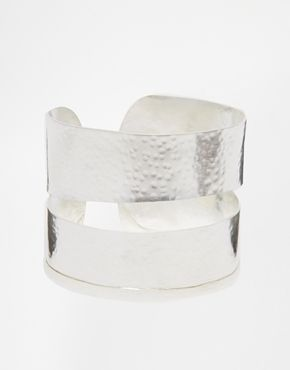 Made Hure Short Cuff Bracelet - Silver on shopstyle.co.uk