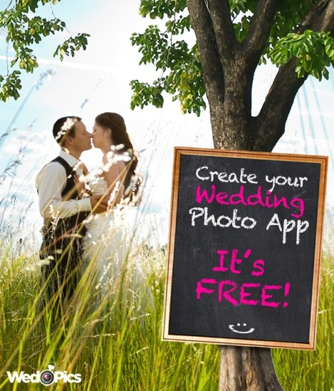 Create Your FREE Wedding Photo App