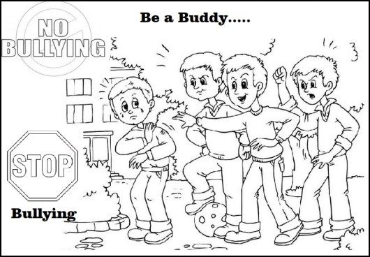 Anti Bullying Coloring Pictures For Children Stop Bullying In 2020 Bullying Anti Bullying Coloring Pages