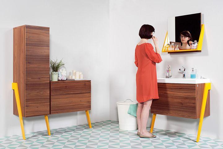 OP-ARTY-  bathroom furniture collection by Olga Mężyńska & Milena Wójcik