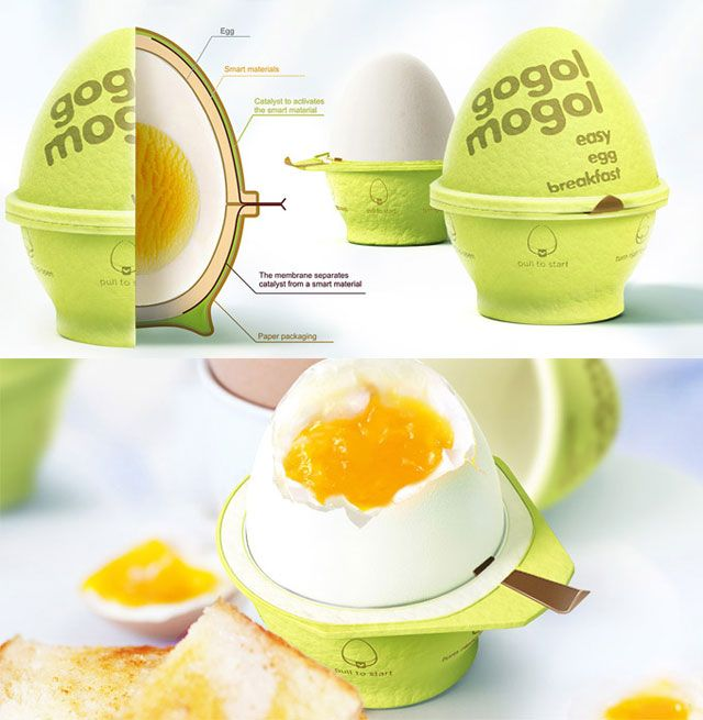 Creative Products Design For The Egg Lovers