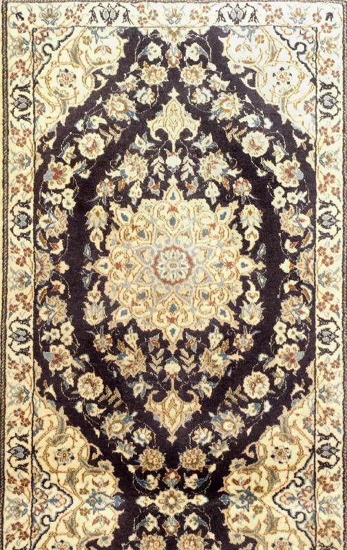 NAIN , Persia, 10 years, cork wool with silk, approx. 138
