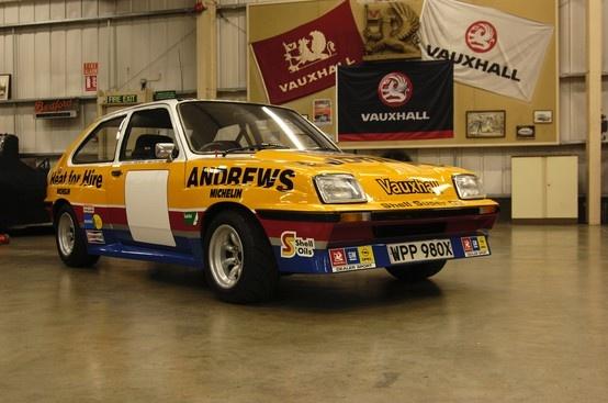 1981: Vauxhall Chevette HSR