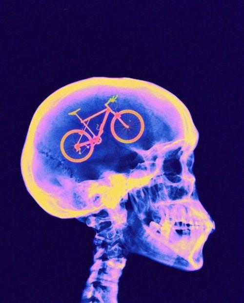 biking it the mind