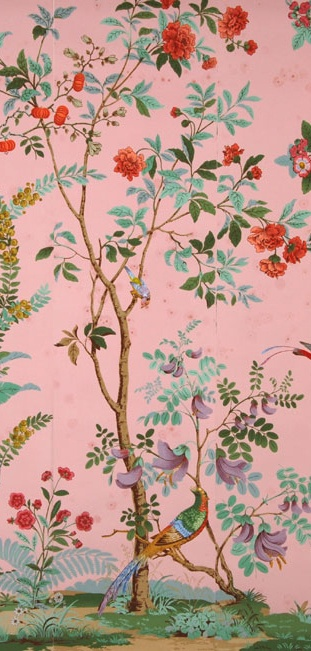 Zuber's Decor Chinois wallpaper - gorgeous in the right room!