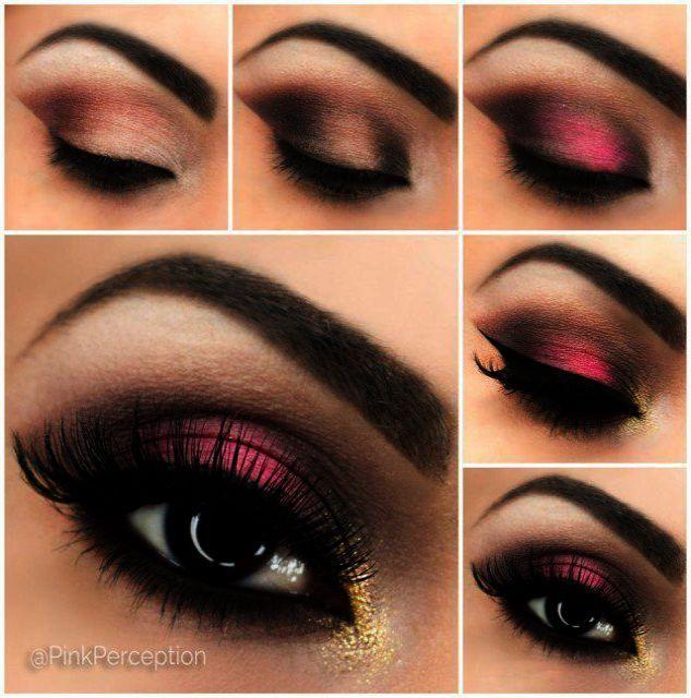 Makeup Geek Fortune Teller Only Colorful Eye Makeup Tumblr Like Makeup Brushes Round Smokey Eye Makeup Tutorial Smokey Eye Makeup Eye Makeup