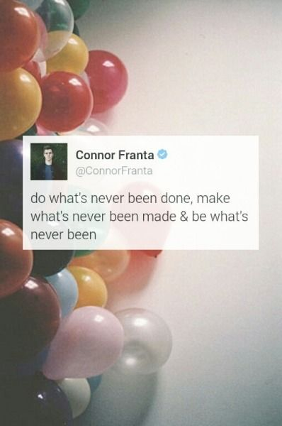 Connor Franta Beautiful Thoughts Pinterest Connor Franta O2l And Youtube