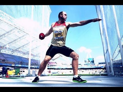 Robert Harting - Best Discus Thrower In The World - YouTube