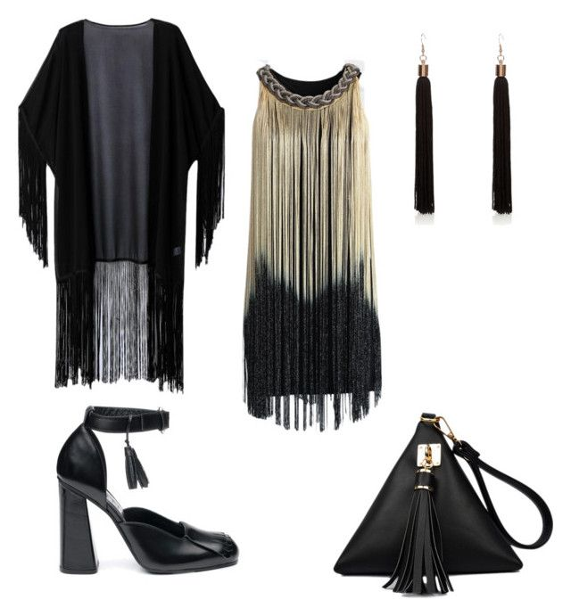"""Tassel my day"" by pinnulinen on Polyvore featuring Chicwish and WithChic"