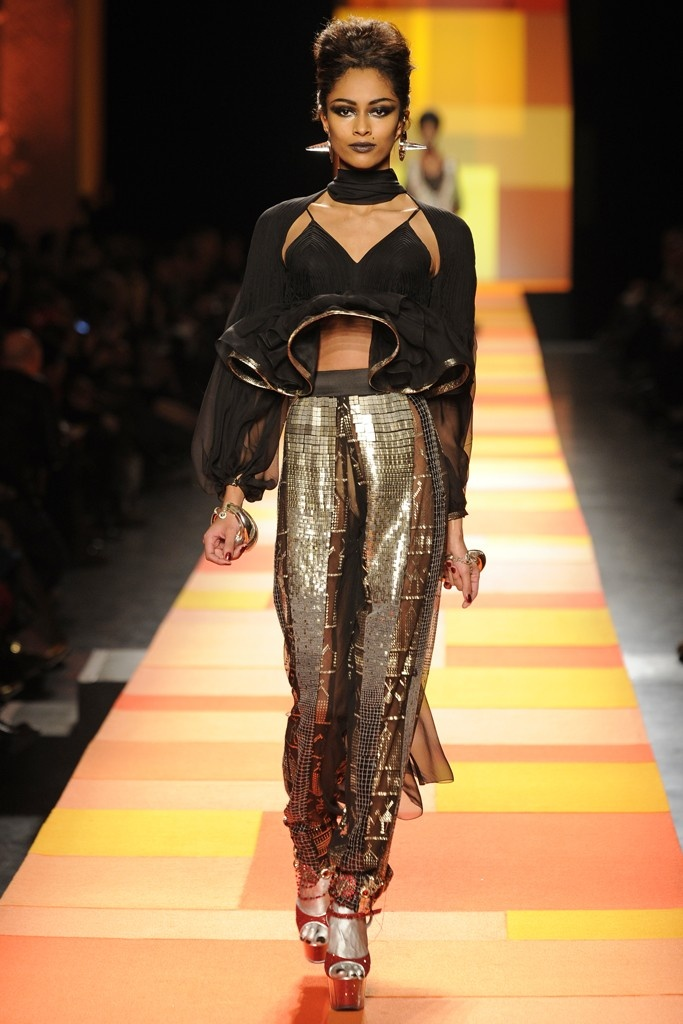 Couture Spring 2013 Trend: Fancy Pants (Jean Paul Gaultier Spring Couture 2013)