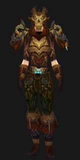 Wyrmstalker Battlegear - Transmog Set - World of Warcraft