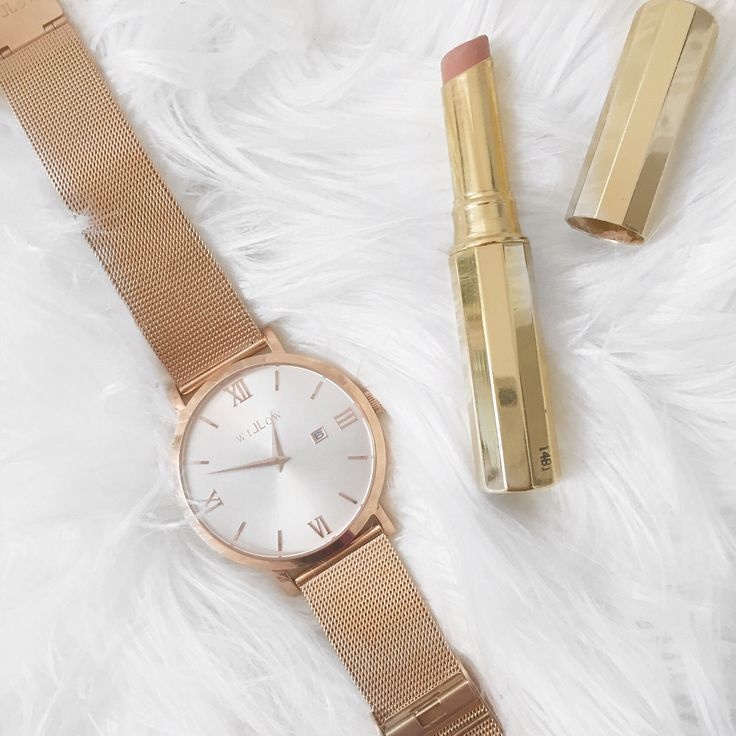 Neutral tones are this months favourite feat our Siena Rose Gold Watch.