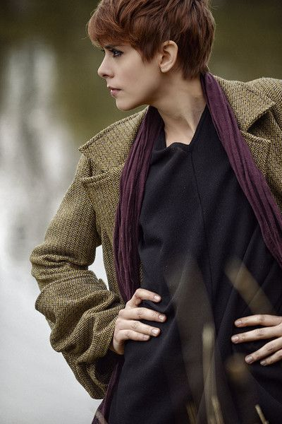Christmas Sale - 50% discount. 2 available - Women's tailored twill coat, pure wool woven tweed. Size 40, Small, Size 42 medium.