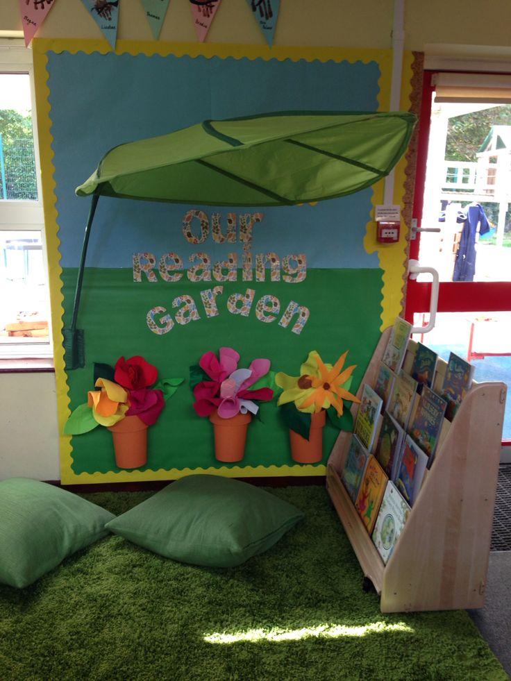 My reading garden! EYFS
