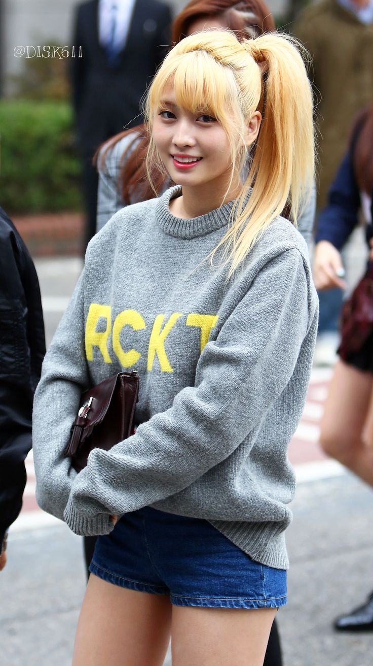 Momo - she's probably the member I remember the most off by heart just because her name is so memorable!