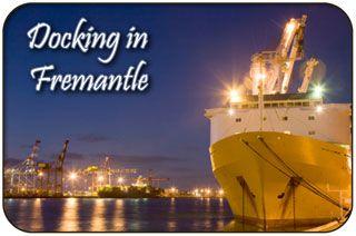Cruise Ship Docking at the Fremantle Docks - Fremantle Waterfront, Victoria Quay