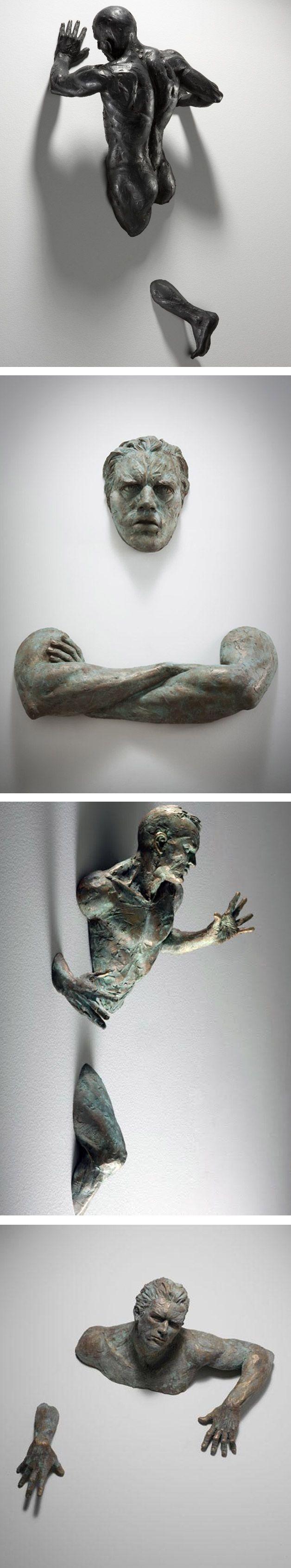 O artistaMatteo Pugliese criou um projeto sensacional de esculturas em…