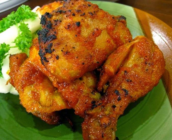 Resep Ayam Panggang Padang