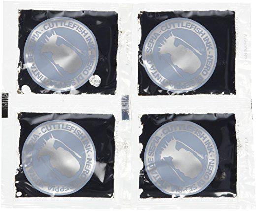 Delicioso Squid Ink Sachets 16g - 4 x 4g