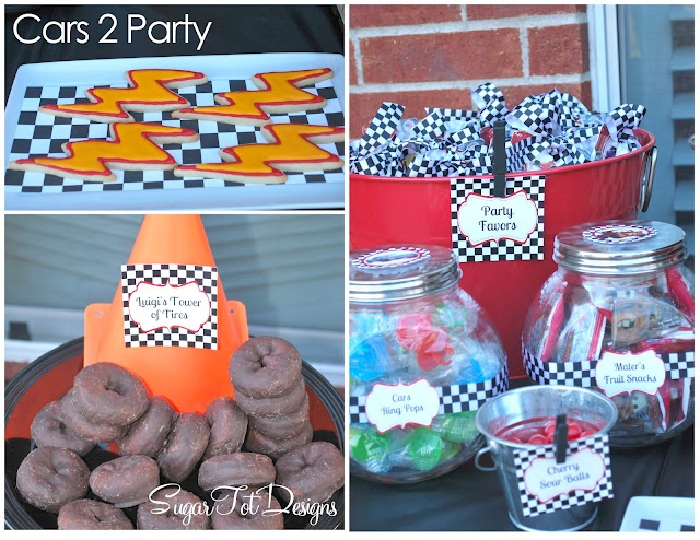 Everything you need for a Cars party!
