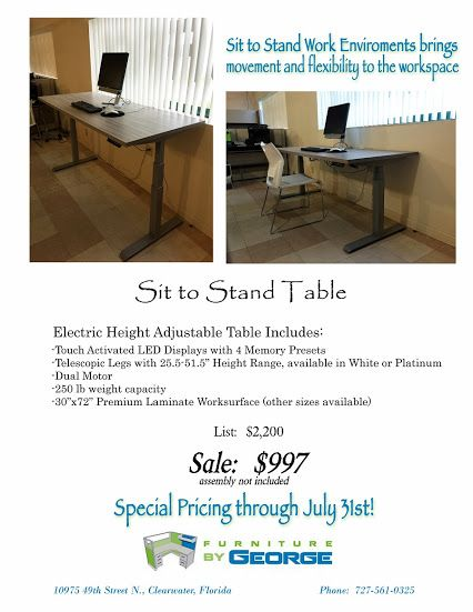 Furniture By George Features Excellent Monthly Specials That You Can Enjoy Today Improve Your Workflow Productivity Comfortability And Overall Office
