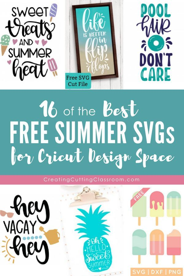 The Best Free Summer SVGs for the Cricut | Free SVG Files | Cricut