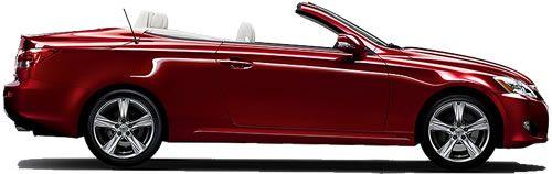 2014 Lexus IS 350 C 2-Door 4-Seat Hardtop Convertible Priced Under $48,000 - Lexus Hardtop Convertible Specs: Price, Mileage, Pollution and Crash Test Ratings