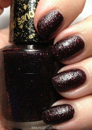 OPI 'Liquid Sand' - Stay the Night (Mariah Carey Collection Spring 2013) / PolishInsomniac *Top 10 Textured Polishes!*