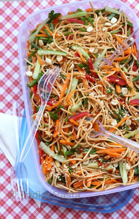 summer sesame noodles- these sound delicious! May give them a try for our Fathers Day bbq!