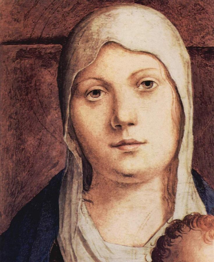❤ - Antonello da Messina (1430 - 1479) - San Cassiano Altar - Detail