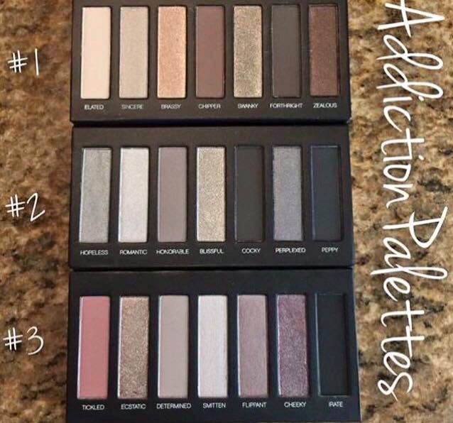 Five No Fail Palettes For: 163 Best Images About A Younique Eye Palette On Pinterest