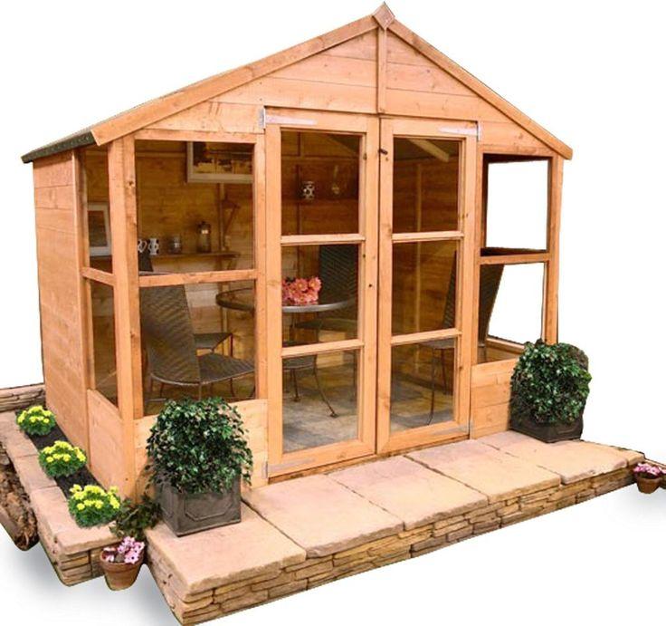 BillyOh Tongue and Groove Summerhouse 6 x 8. in Garden & Patio, Garden Structures & Shade, Garden Sheds | eBay