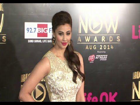 Daisy Shah looking gorgeous @ Life OK Now Awards 2014.