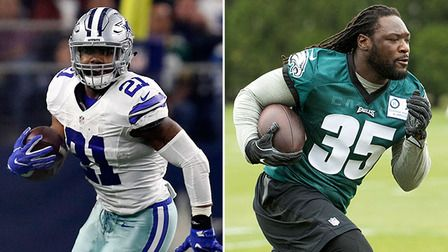 Ranking the RBs: Who'll rush for most yards in NFC East? - NFL Videos
