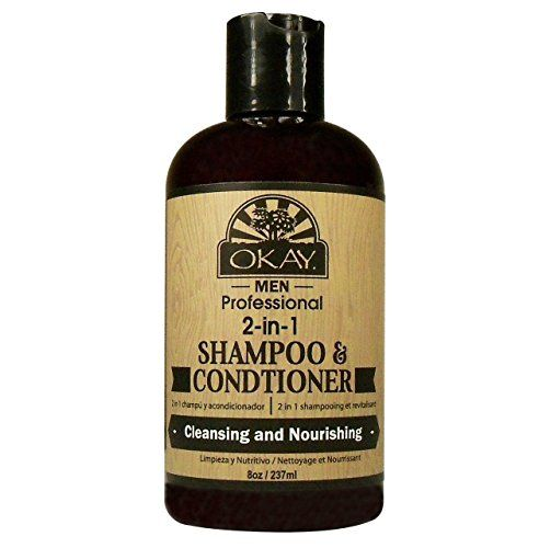 OKAY 2in1 Mens Shampoo Conditioner 8 Ounce -- Want to know more, click on the image.(This is an Amazon affiliate link and I receive a commission for the sales)