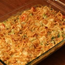 Crowd Pleasing Vegetable Casserole Recipe ...will have to try the next time we have company.